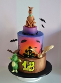 [nr: 3269 ] tort Scooby Doo Tabaluga Harry Potter